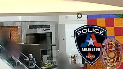 En fotos: Sospechoso saca un arma (que resultó ser falsa) en un centro comercial