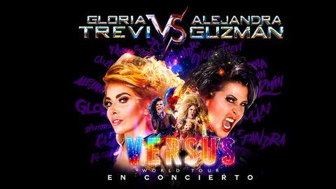 Gloria Trevi vs Ajejandra Guzman Verus World Tour San Antonio