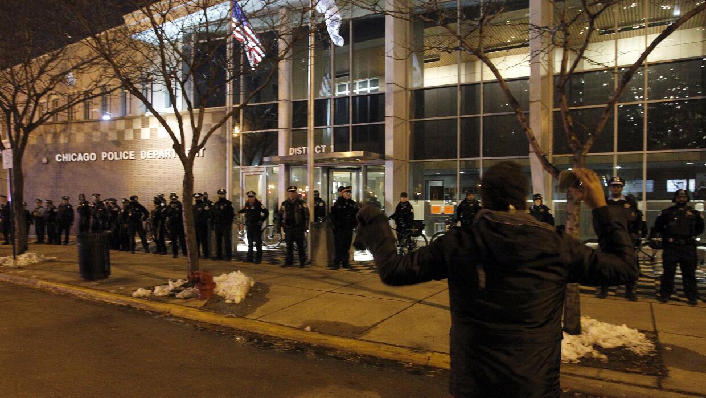 Protestas Chicago