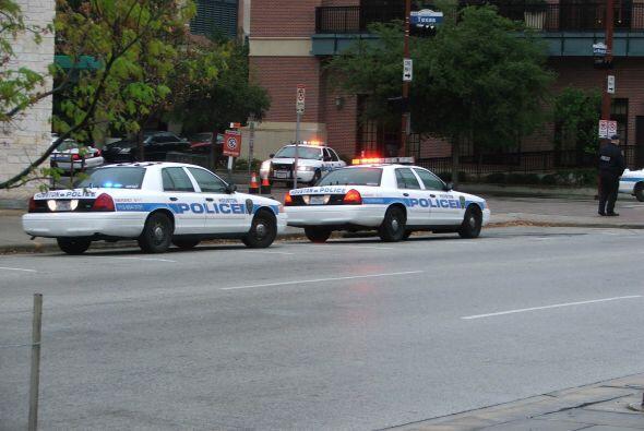 En pocas ocasiones Houston ha sido objeto de tantas medidas de seguridad.