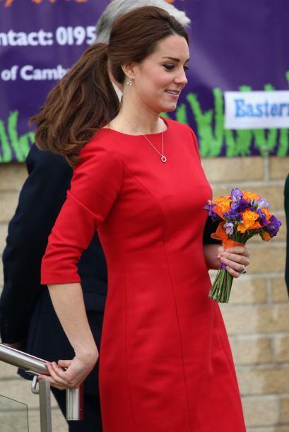 Fue una visita muy emotiva para la Duquesa de Cambridge, que la dejó con...