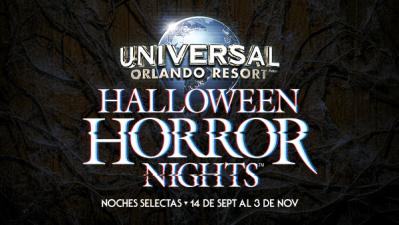 ¡Te llevamos a Halloween Horror Nights!