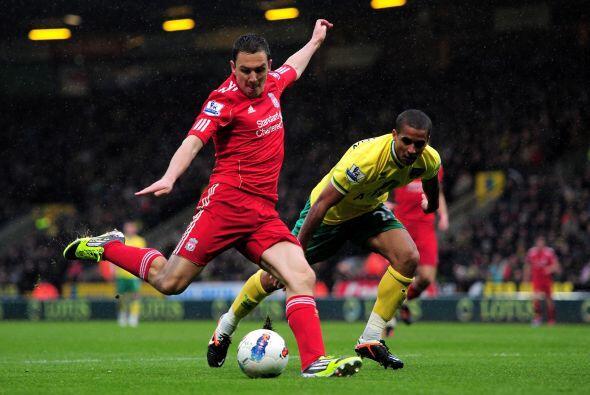 Liverpool goleó al Norwich con un partido memorable del delantero...
