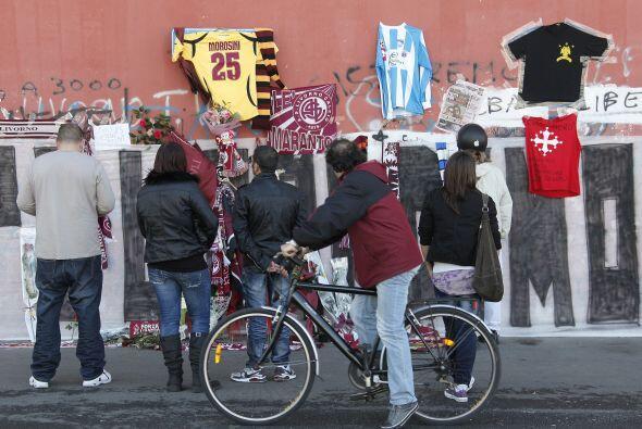 """""""Lo hecho hoy por Livorno ha sido un gesto de afecto. El amor hacia este..."""