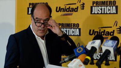 Julio Borges, líder opositor, en una imagen de archivo.