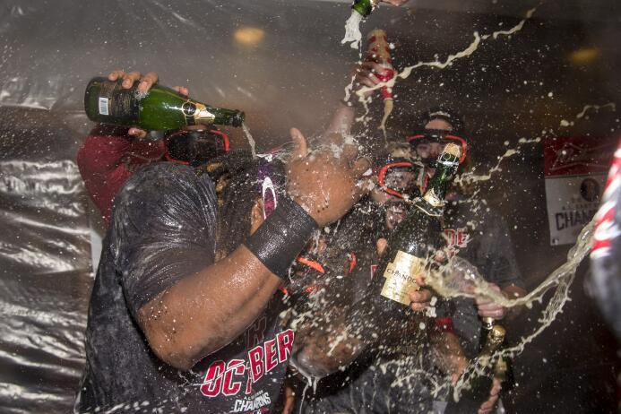 Red Sox: una fiesta de Grandes Ligas por el campeonato divisional GettyI...