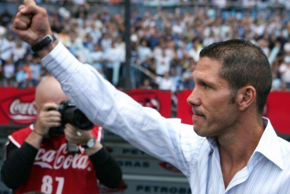 Diego Pablo Simeone aseguró que Jiménez brindaría muchas alegrías a la a...