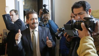 Jesús 'Chuy' García le ganó con facilidad la candid...
