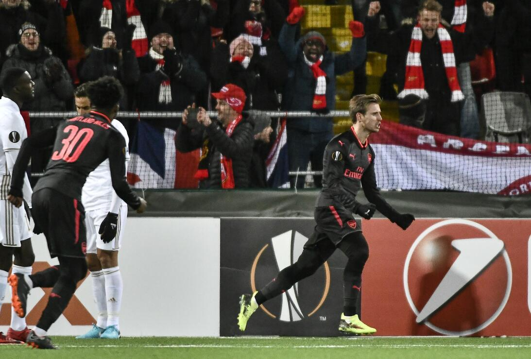 Ostersunds 0-3 Arsenal: historia similar con los Gunners que con anotaci...