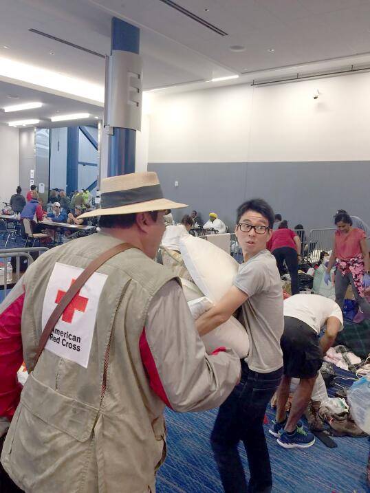 Houston refugiados