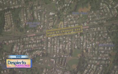 Anuncian reparación de una troncal sanitaria en Bayamón