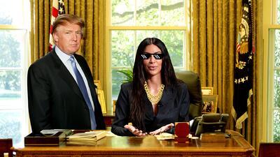 Kim 'boss' Kardashian o cómo la 'influencer' demostró su poder en la Casa Blanca