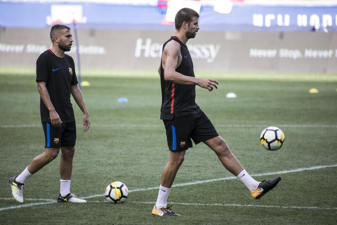 ¿Neymar se va del Barcelona? Así se viven los entrenamientos en medio de...