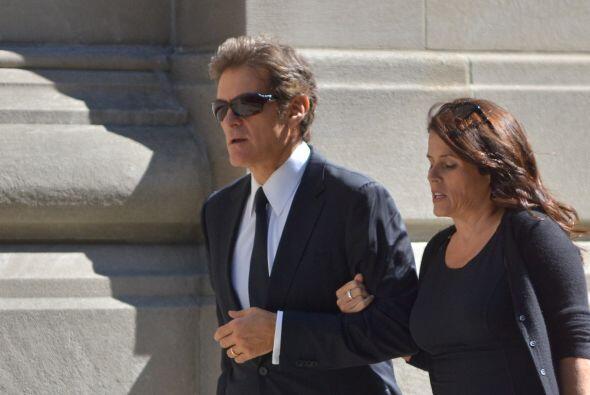 El doctor Mehmet Oz con su mujer.