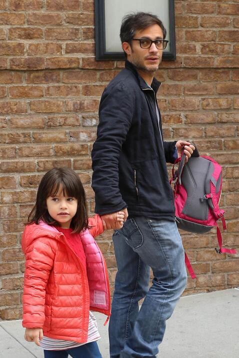 Gael Garcias y su hija Libertad