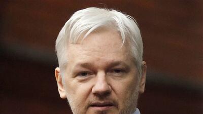 En esta foto de archivo del 5 de febrero de 2016 el fundador de WikiLeak...