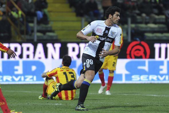 El equipo local comenzó ganando por el penal cobrado por parte de Sergio...
