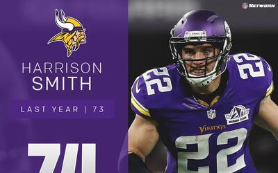 #74: Harrison Smith (S, Vikings) | Top 100 jugadores 2017