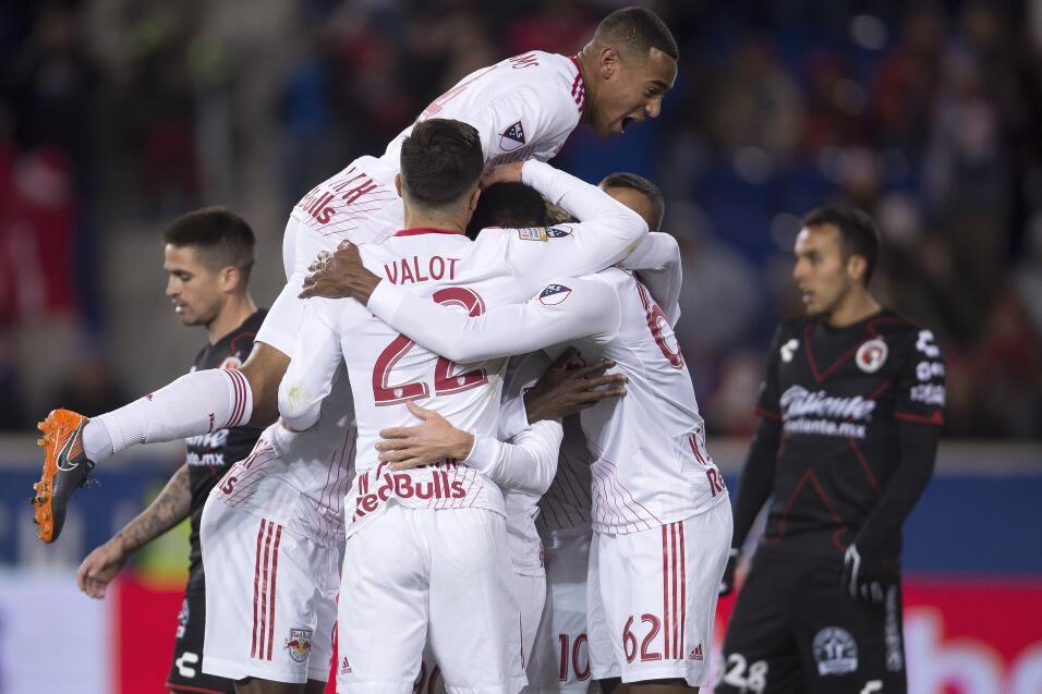 New York Red Bulls vs Xolos de Tijuana Cuartos Final Vuelta Concacaf Lig...