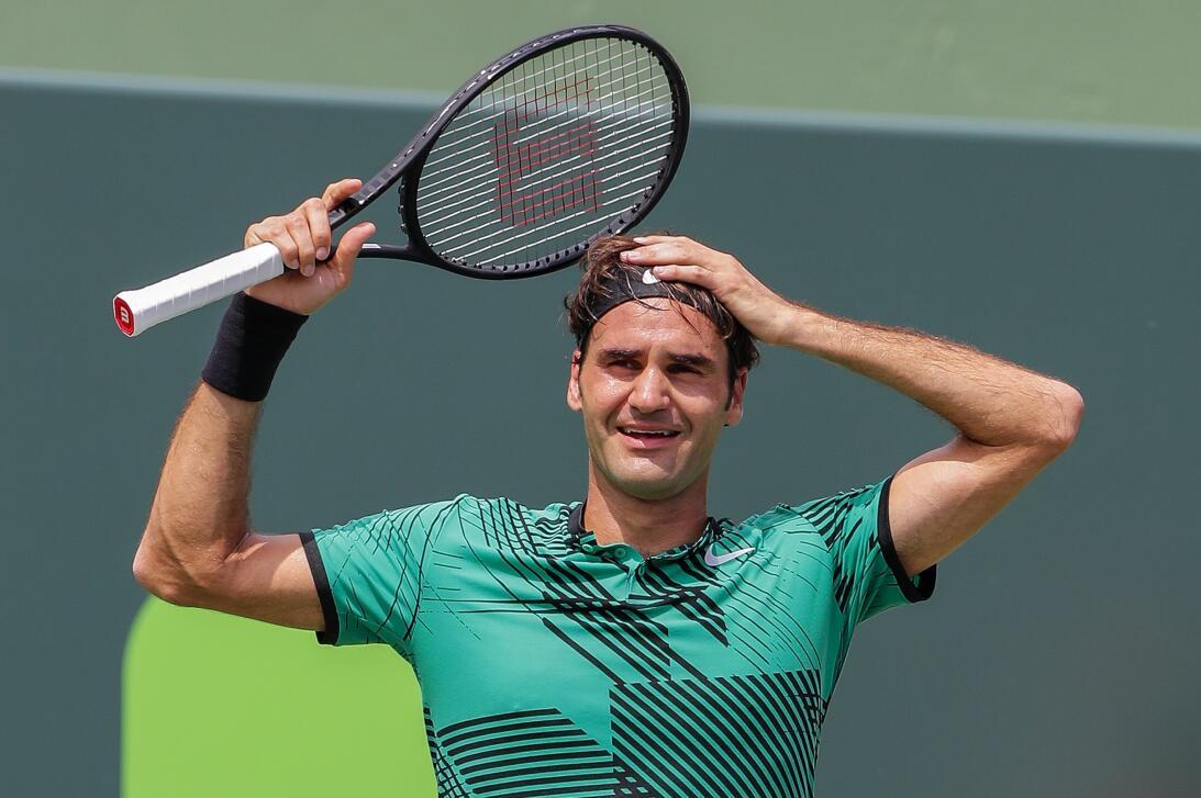 Roger Federer, el contudente campeón del ATP Miami Open 2017 63626764481...