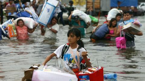 """La """"Gran Inundación"""" de Tabasco 2007"""