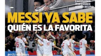 Medios del mundo destacaron la humillación de Argentina contra España