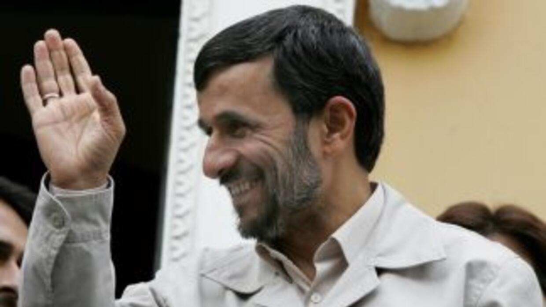El presidente de Irán, Mahmud Ahmadineyad.