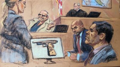 """Abogados de 'El Chapo' afirman que testigo clave del juicio inventó """"una telenovela"""""""