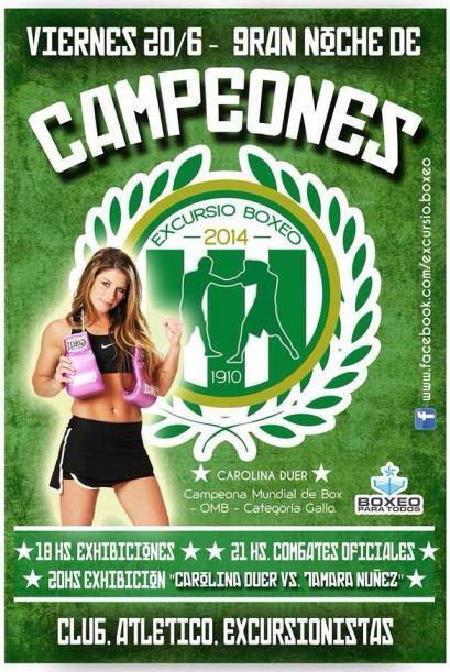 Carolina Duer es toda una campeona (Foto Twitter)