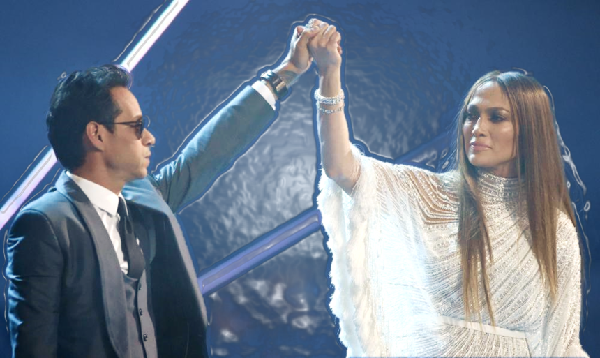 Marc Anthony y Jennifer López utilizan su poder de convocatoria para aux...