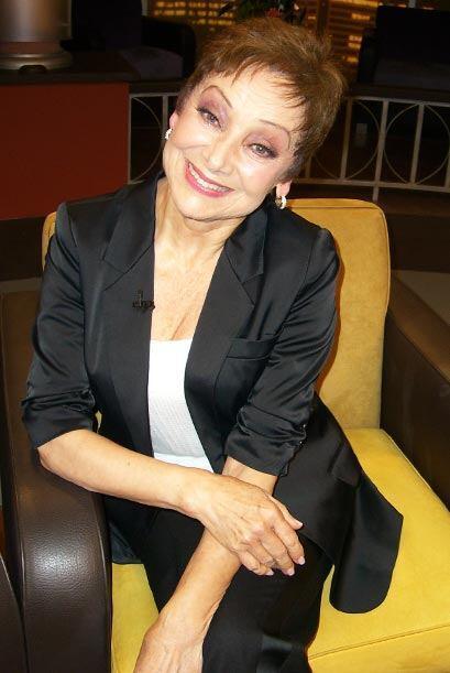Gloria Benavides, desde hace años da via a La Cuatro en Sábado Gigante.