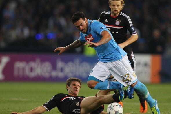 Pero el equipo italiano puso garra y corazón en busca de la igualdad.