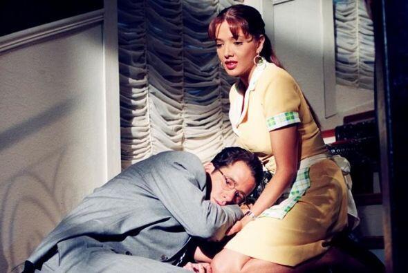 La vimos enamorarse de Fernando Carrillo quien interpretaba a un hombre...