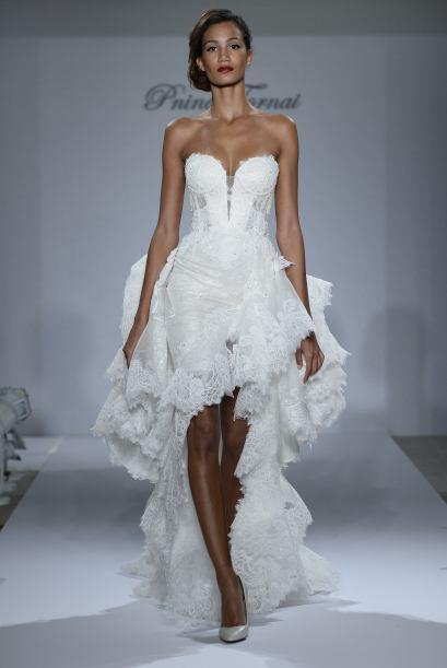Pero, contrario a lo que se cree, este es el vestido de la novia que sab...