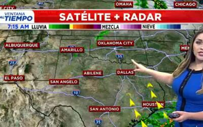 'Dallas en un Minuto': mucho calor y posible presencia de algunas lluvia...
