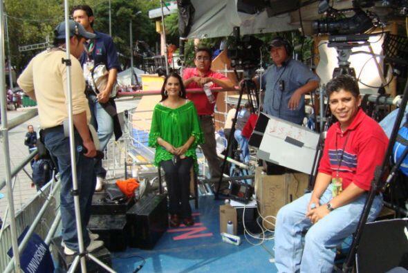 Cobertura Bicentenario de México en septiembre del 2010
