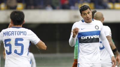 Inter alcanzó a empatar al Hellas Verona
