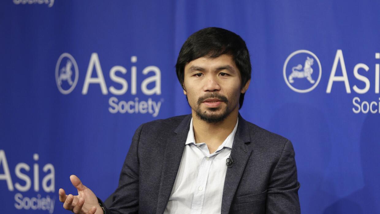 Manny Pacquiao asume comentarios homófobos