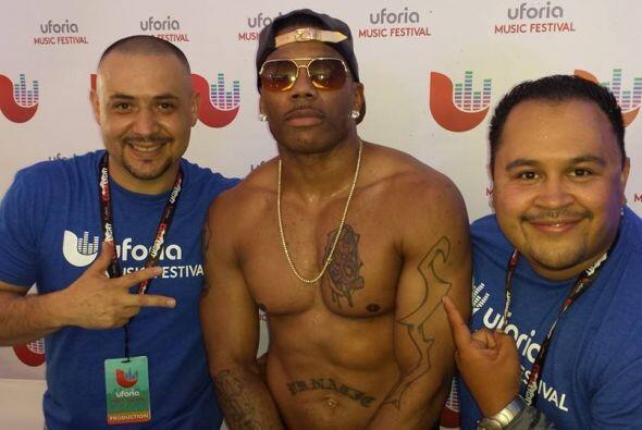 Nelly in the house con Uforia Nation.