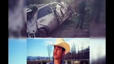 Murió Ariel Camacho en accidente automovilístico