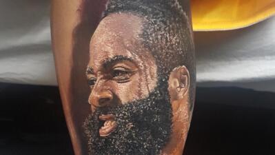 Tatuaje de Hames Harden