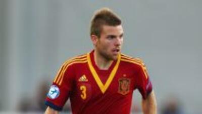 Illarramendi con la selección española Sub-21.