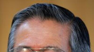 Alberto Keinya Fujimori Fujimori, polémico ex presidente de Perú.