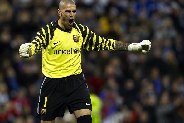Valdés: El guardameta catalán va camino de su cuarto Zamor...