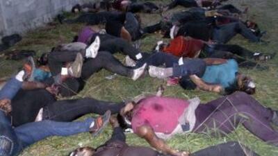 Aparecieron dos cadáveres que podrían corresponder a los investigadores...