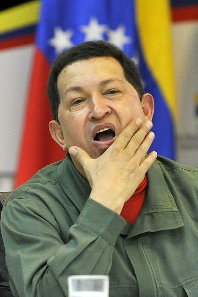 Ante los rumores de que el presidente venezolano Hugo Chávez est&...