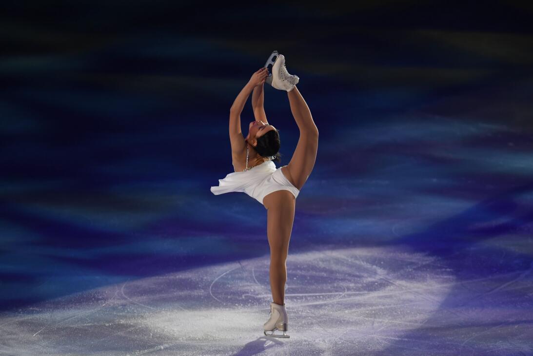 El espect culo y belleza del patinaje art stico sobre Espectaculo artistico de caracter excepcional