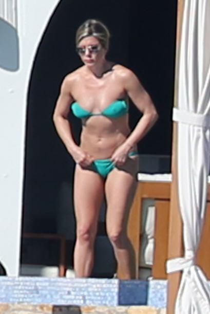 De quién no podemos decir lo mismo es de Jennifer Aniston, pues ese biki...