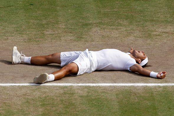 Nadal concretó una categórica victoria por 6-3, 7-5 y 6-4.