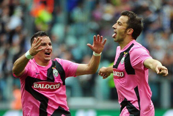 Pero el gol que más emocionó a los presentes fue el de Alessandro del Pi...